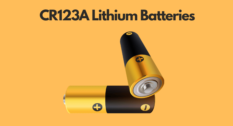 CR123 A batteries