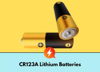 CR123 A battery