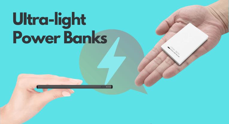 ultra-light power banks