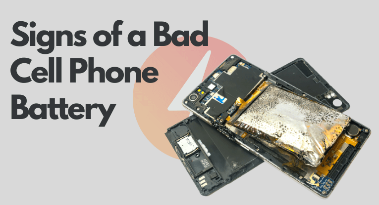bad cell phone battery