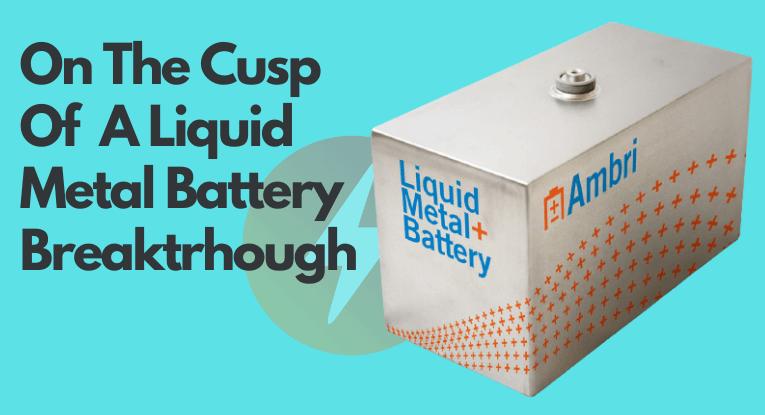 liquid metal battery