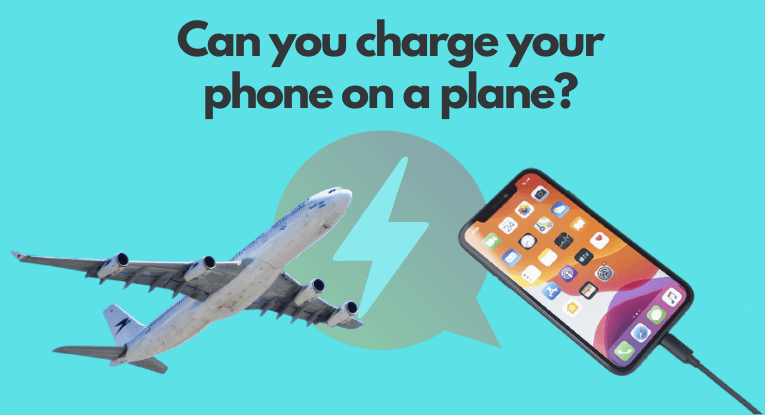 Can you charge your phone on a plane?