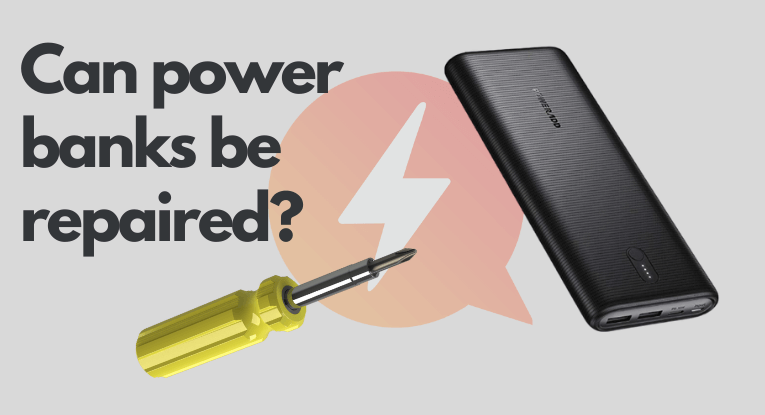 can power banks be repaired