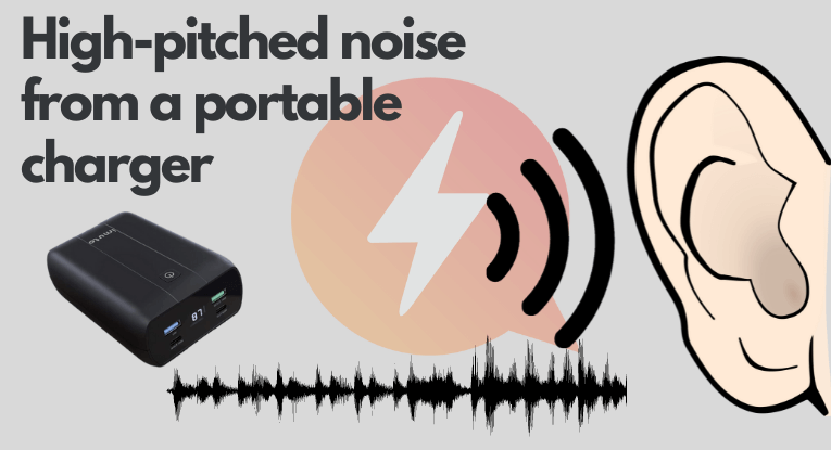 high pitched noise charger