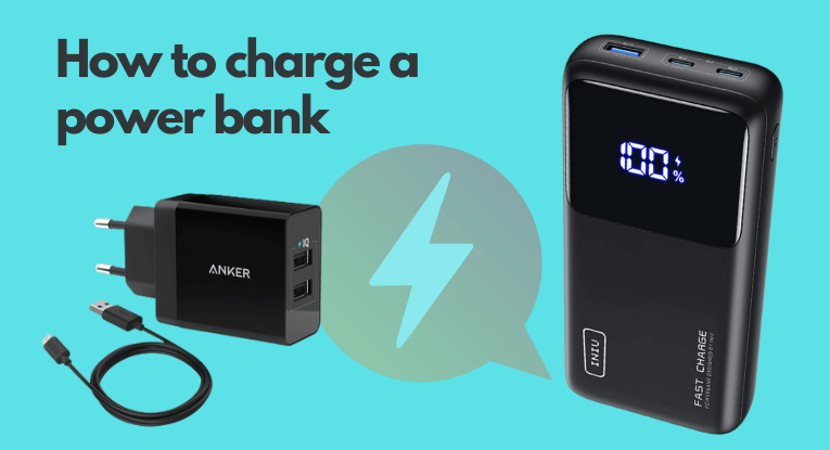 how to charge a power bank